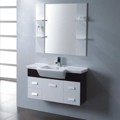 Wood bathroom cabinet SW-WD0015W