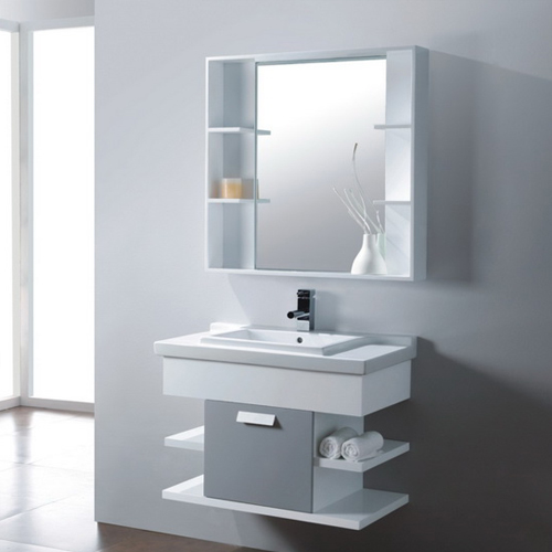 Wood bathroom cabinet SW-WD0019W