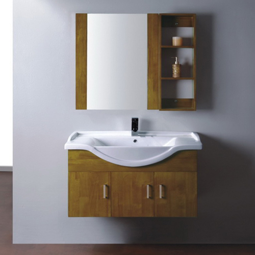 Wood bathroom cabinet SW-WD0028W