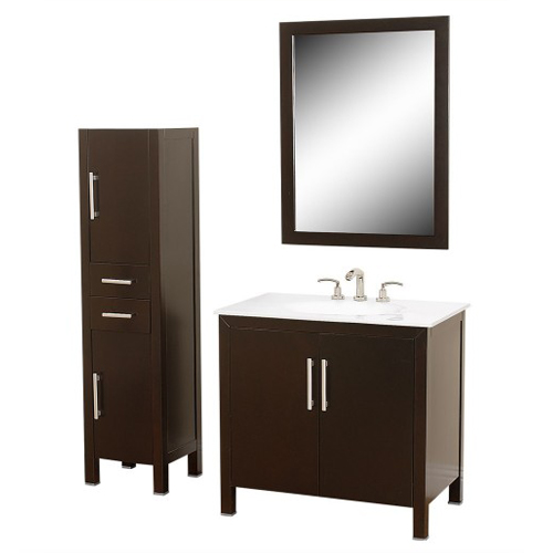 Wood Bathroom Vanity SW-S002
