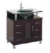 Wood bathroom cabinet SW-1209