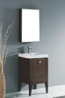 Wood bathroom cabinet SW-1217