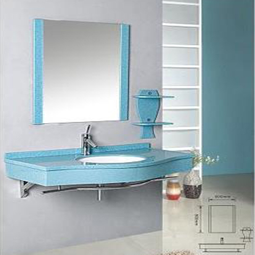 GLASS bathroom cabinet SW-G002